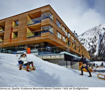 gradonna mountain resort chalets ****s