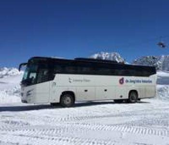 per pendelbus naar oostenrijk en retour (zonder accommodatie)